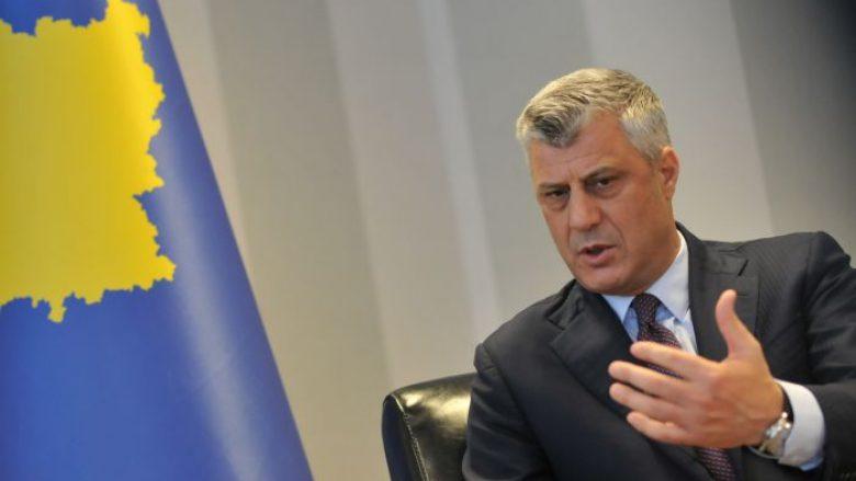 Thaçi  BE të mos manipulohet nga Serbia  ta trajtojë Kosovën si shtet