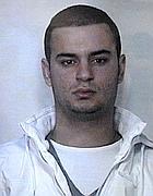 Vicenza 13 10 11 VI Carabinieri conf. stampa rapina a Vit Bruno  Nella foto: Dauti Juxhin © Vito T. Galofaro