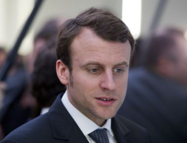 epa04369824 (FILE) A file photo dated 12 February 2014 shows Emmanuel Macron, newly appointed French Economy Minister, during a visit by French President Francois Hollande to San Francisco, California, USA. Macron was named the new Economy Minister on 26 August 2014, as French Prime Minister Manuel Valls presented a new government a day after his administration collapsed over infighting on austerity measures.  EPA/ALAIN JOCARD/POOL