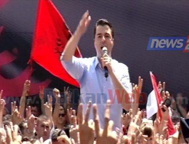 protesta PD NE SHESH. BASHA jpg