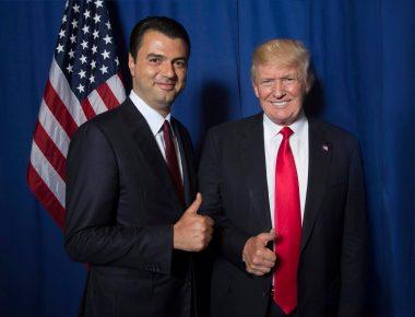 Basha dhe Trump