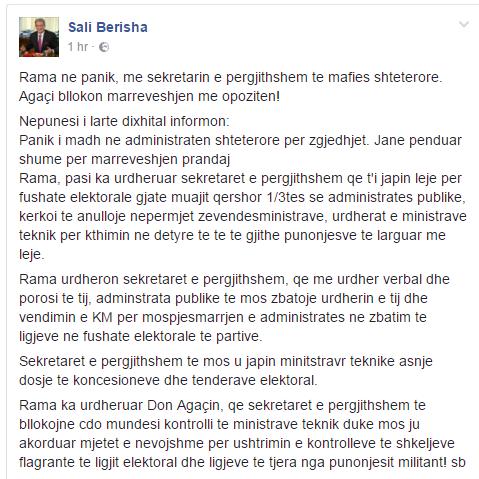 Berisha fb 2 qershor