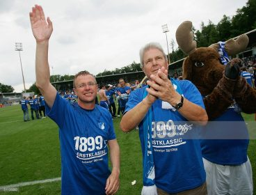 HOFFENHEIM, GERMANY - MAY 18: during the Second Bundesliga match between 1899 Hoffenheim and Greuther Fuerth at the Dietmar-Hopp stadium on May 18, 2008 in Hoffenheim, Germany. (Photo by Christof Koepsel/Bongarts/Getty Images)