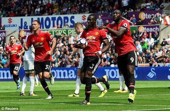 Manchester United fiton sërish bindshëm ndaj Swensea  dyshja Pogba Lukaku funksionon më së miri