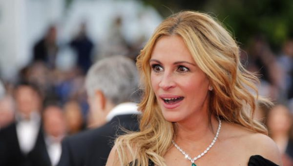 "Cast Member Julia Roberts Poses On The Red Carpet As She Arrives For The Screening Of The Film ""money Monster"" Out Of Competition At The 69th Cannes Film Festival In Cannes"