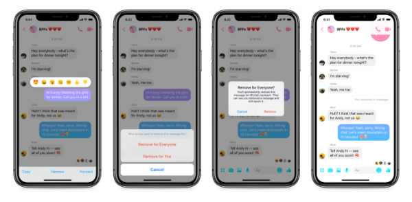 Messenger Remove Messages Ios