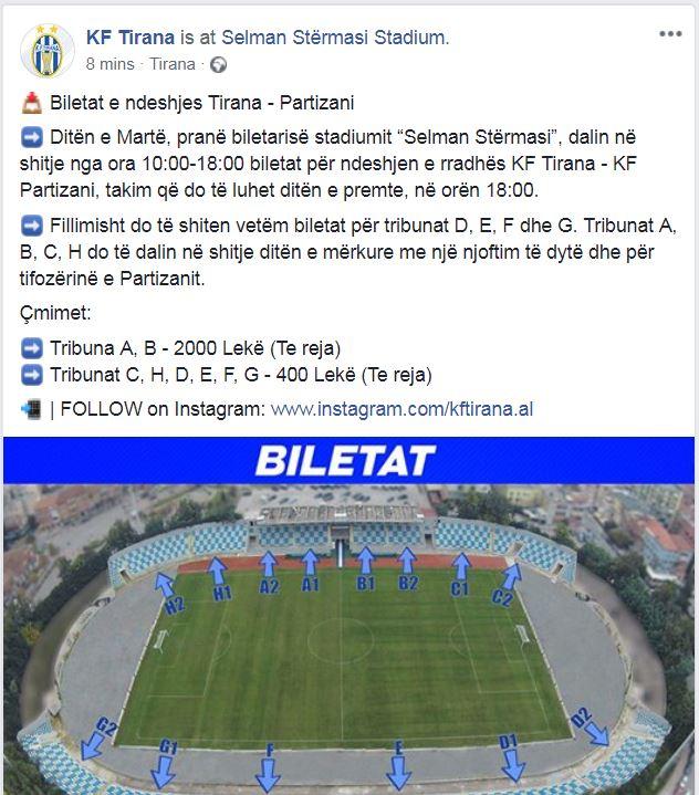 Tirana Partizani 1