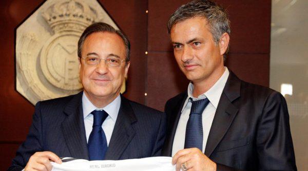 Florentino Perez Jose Mourinho