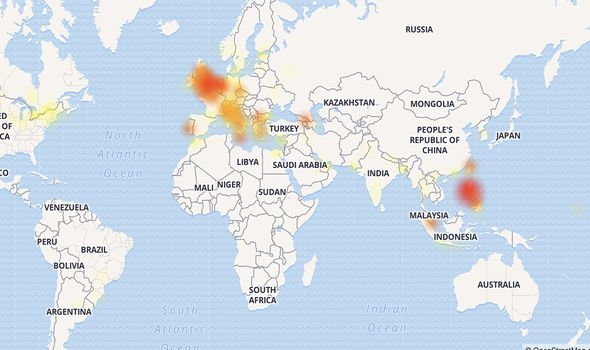 Facebook Outage Map 1826914