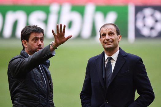 Uefa Champions League, La Juventus Visita Il Campo Alla Vigilia Della Sfida Con L'ajax