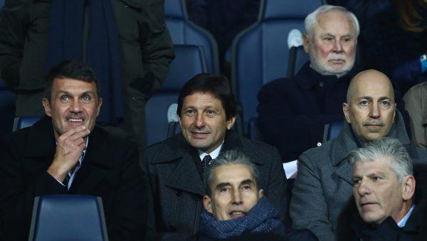 Ivan Gazidis Leonardo Paolo Maldini Milan 3gcdls9fu7n41vhiv0ko42lmb