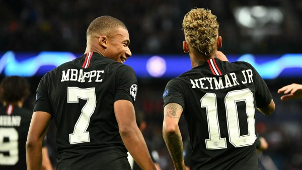 Kylian Mbappe Neymar Psg Ffp Real Madrid Transfer News Gettyimages 1045450968