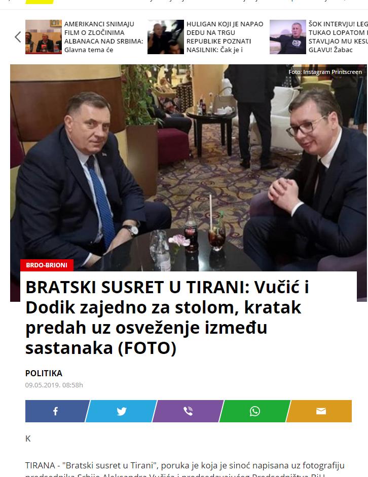 Media Serbe Per Vucic