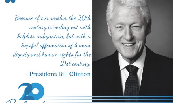Clinton per shqiptaret