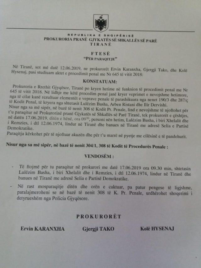 Basha Prokurori