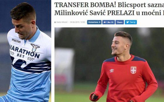 Milinkovic Al Psg Secondo Blic