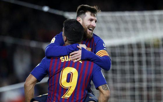 Suarez Messi
