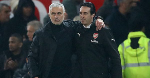 Jose.mourinho.unai .emery