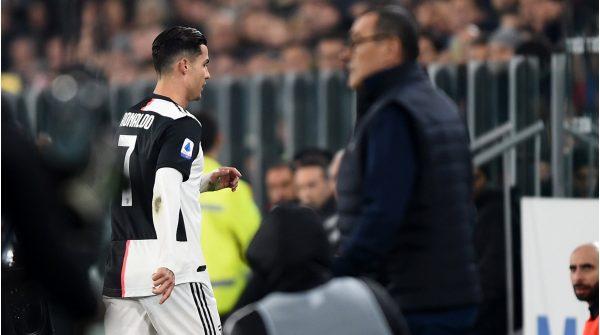 Maurizio Sarri Cristiano Ronaldo Juventus Turin 1573451498 27297