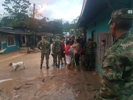 Yellow Alert And Thousands Evacuated Due To The Rain In Mocoa
