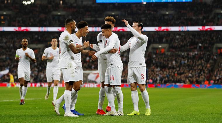 International Friendly England V United States