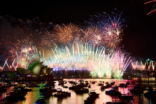 0 City Of Sydney Celebrates New Years Eve 2018
