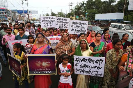 Candle Light March For Justice For Rape Victim In Bhopal
