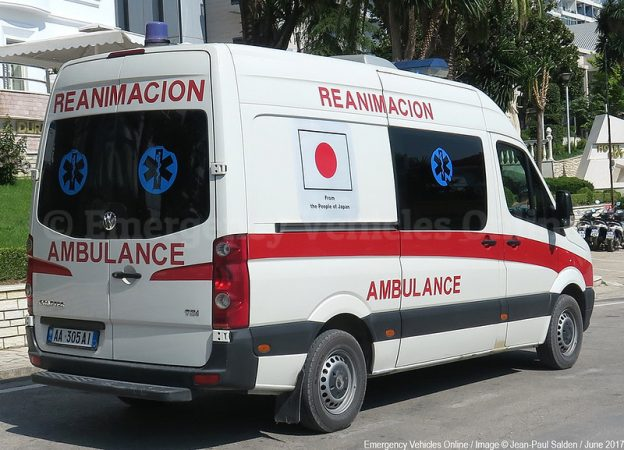 Zjps Albania Sarande Ambulance L