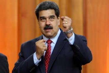 Press Conference Of Nicolas Maduro In Caracas