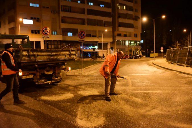 Bashkia Tirane , Kripe Ne Rruge (1)