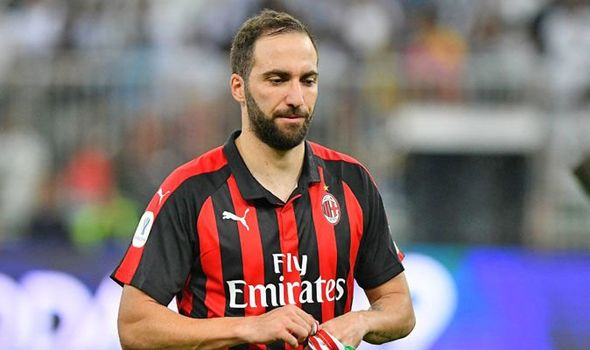 Higuain pranë akordit me Chelsea  Milan gjen zëvendsuesin
