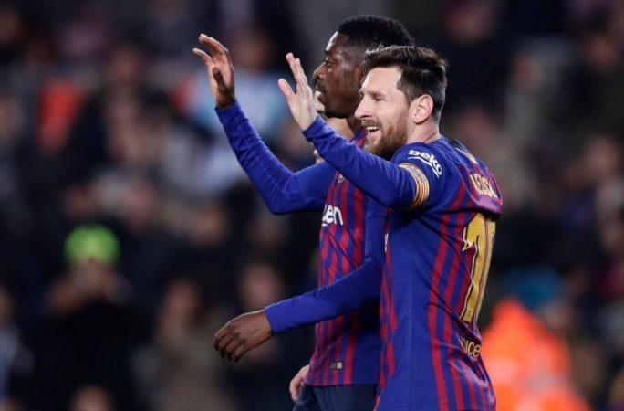 Barcelona mposht Levanten  por mund të eliminohet në tavolinë