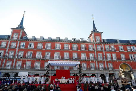 Traditional Mass In Honor Of The Almudena Virgin In Madrid