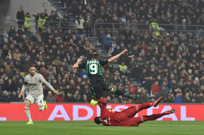 Sassuolo Vs Juventus Serie A Tim 2018/2019