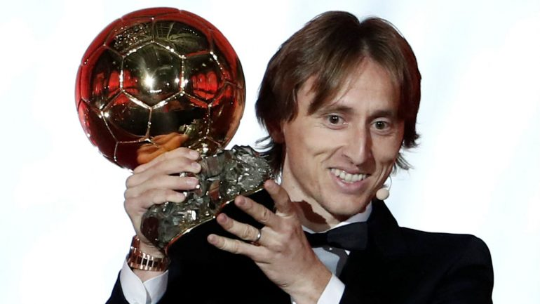 Luka Modric Ballon Dor