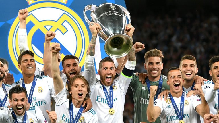 Real Madrid Champions League Trophy 2018 Zeu0dd18cuf1y0viuufev2k4