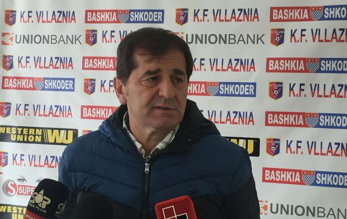 Vllaznia pa trajner  Hasan Lika largohet nga  Kuqeblutë