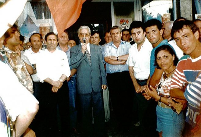 Servet Pëllumbi Gjatë Fushatës Në 1996