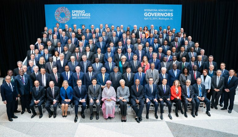 Sm19 Imf Governors' Photo