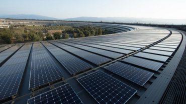 Apple Solar Panels