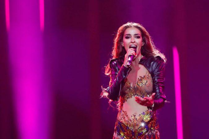 Cyprus Eleni Foureira Rehearsal Eurovision 2018