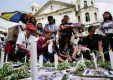 Filipino Families Of Human Rights Victims Offer Flowers And Candles On All Souls Day