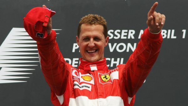 Michael Schumacher Exhibition Ferrari Museum Gettyimages 71540754