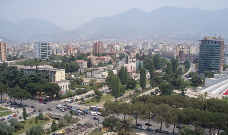 Tirana View From Sky Tower 4