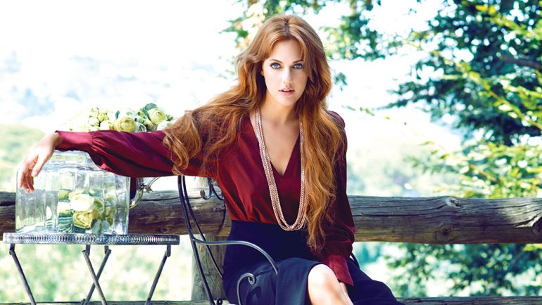 Meryem Uzerli Turkish Soap Star