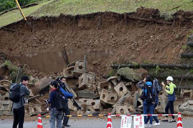 Strong Earthquake Hits The Prefectures Of Niigata And Yamagata