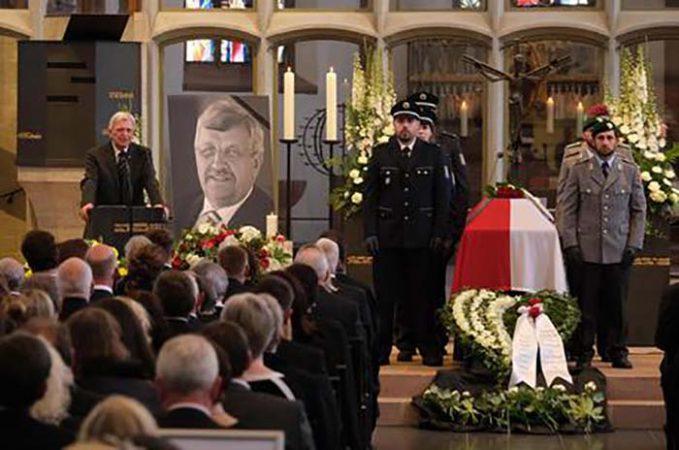 Memorial Service For Murdered Politician Walter Luebcke