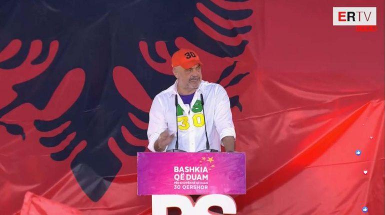 Edi Rama Ne Elbasan