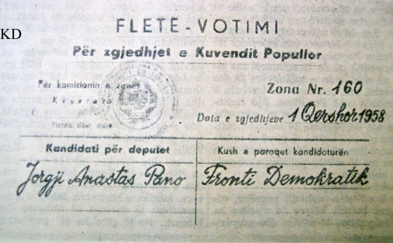 Fleta E Votimit Komunizem