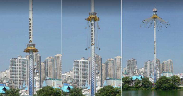 Gyro Drop Lotte World Fake Viral